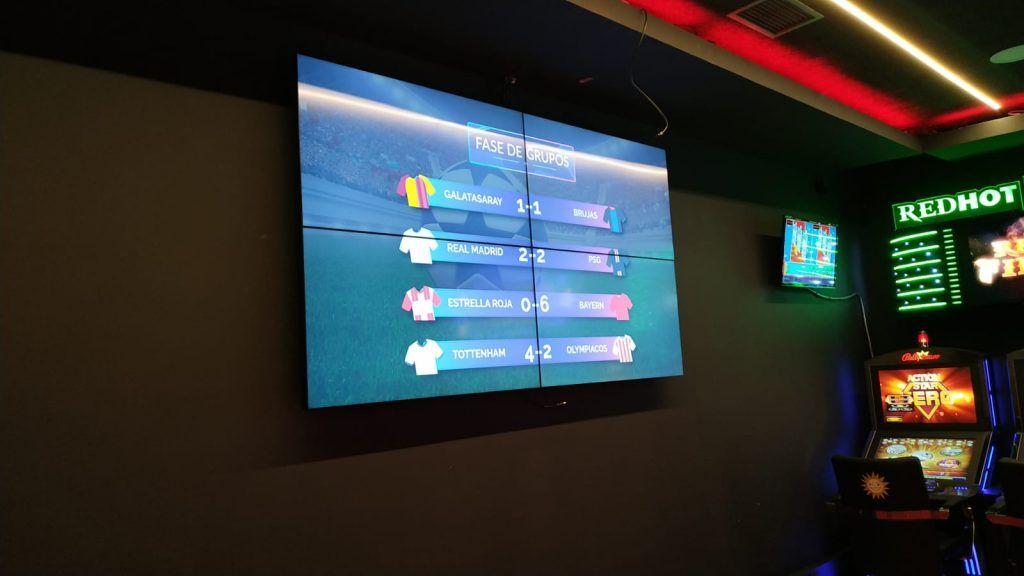 Videowall Salon Fortuna