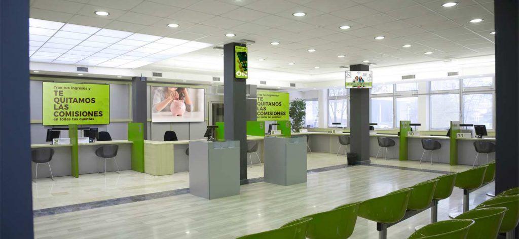digital signage banca