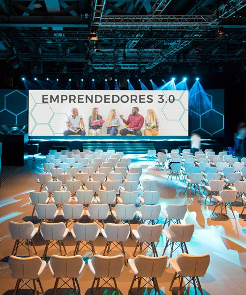 digital signage en eventos