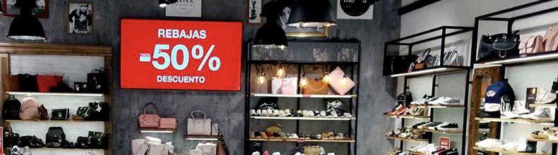 Pantallas Digitales para tiendas de moda
