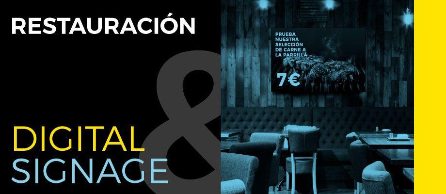 cabecera blog digital signage para restauracion