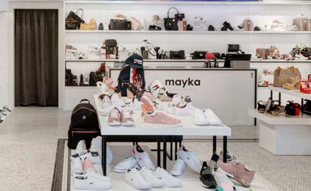 Video Wall 4x3 zapatos mayka