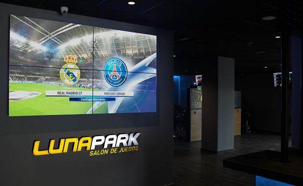 Videowall Luna Park